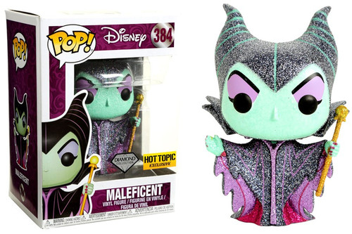 Funko Sleeping Beauty POP! Disney Maleficent Exclusive Vinyl Figure #384 [Diamond Collection]