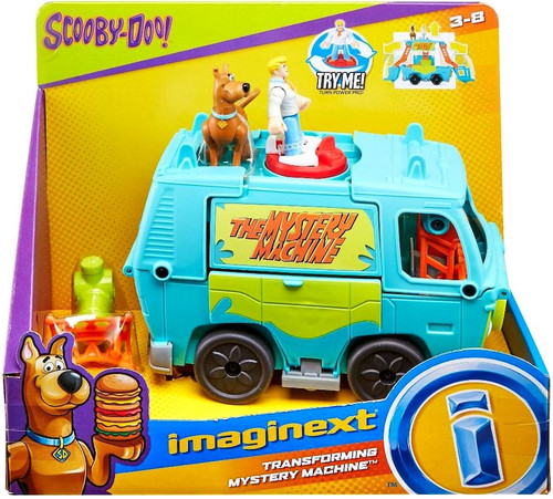 Fisher Price Scooby Doo Imaginext Transforming Mystery Machine 3-Inch Figure Set