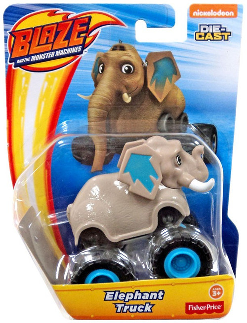 Fisher Price Blaze & the Monster Machines Nickelodeon Elephant Truck Diecast Car