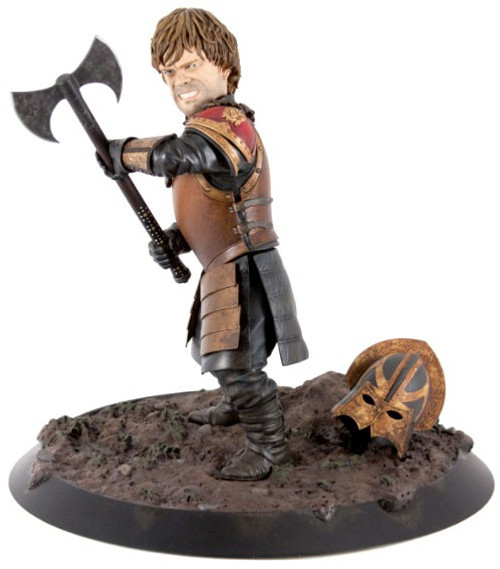 Game of Thrones Tyrion in Battle 10-Inch PVC Statue Figure
