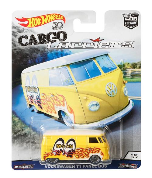 Hot Wheels Cargo Carriers Volkswagen T1 Panel Bus Diecast Car #1/5