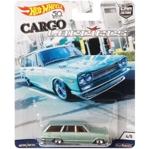 Hot Wheels Cargo Carriers Nissan C10 Skyline Wagon Diecast Car #4/5