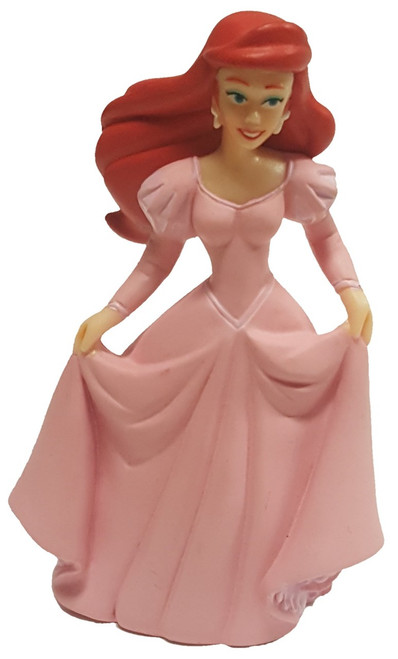 Disney Princess Human Ariel In Pink Dress Exclusive 3-Inch PVC Figure [Loose]