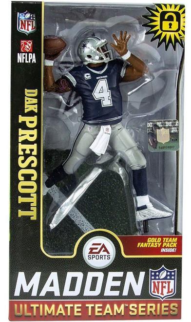 McFarlane Toys NFL Dallas Cowboys EA Sports Madden 19 Ultimate Team Series 1 Dak Prescott Action Figure