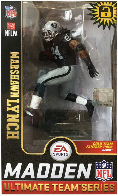 McFarlane Toys NFL Oakland Raiders EA Sports Madden 19 Ultimate Team Series 1 Marshawn Lynch Action Figure