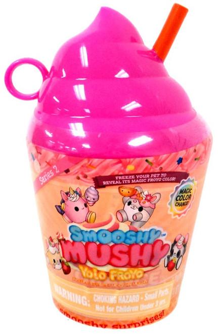 Smooshy Mushy Yolo Froyo Smooshy Surprises! Series 2 PINK Mystery Pack