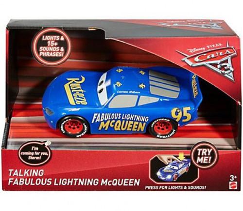 Disney / Pixar Cars Cars 3 Fabulous Lightning McQueen Talking Vehicle [Lights & Sounds!]