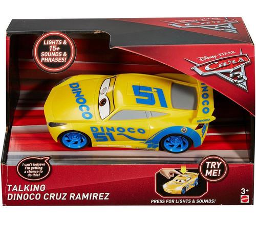 Disney / Pixar Cars Cars 3 Dinoco Cruz Ramirez Talking Vehicle [Lights & Sounds!]