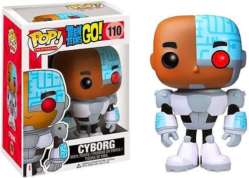 Funko Teen Titans Go! POP! TV Cyborg Vinyl Figure #110 [Damaged Package]
