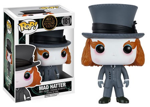Funko Alice Through the Looking Glass POP! Disney Mad Hatter Vinyl Figure #181 [2016 Version, Damaged Package]