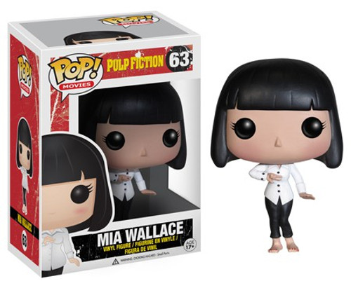 Funko Pulp Fiction POP! Movies Mia Wallace Vinyl Figure #63 [Damaged Package]