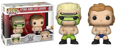 Funko WWE Wrestling POP! Sports Sting & Lex Luger Exclusive Vinyl Figure 2-Pack