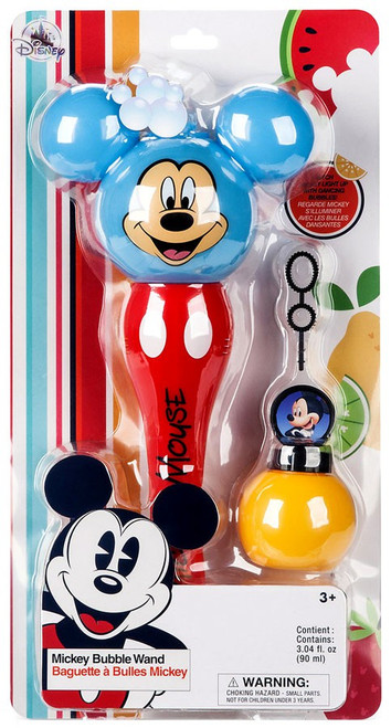Disney Mickey Mouse Mickey Bubble Wand Exclusive