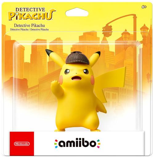 Nintendo Amiibo Detective Pikachu Mini Figure