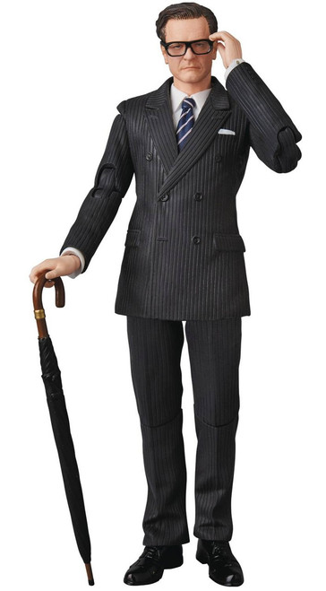 "Kingsman: The Secret Service MAFEX Harry ""Galahad"" Hart Action Figure"