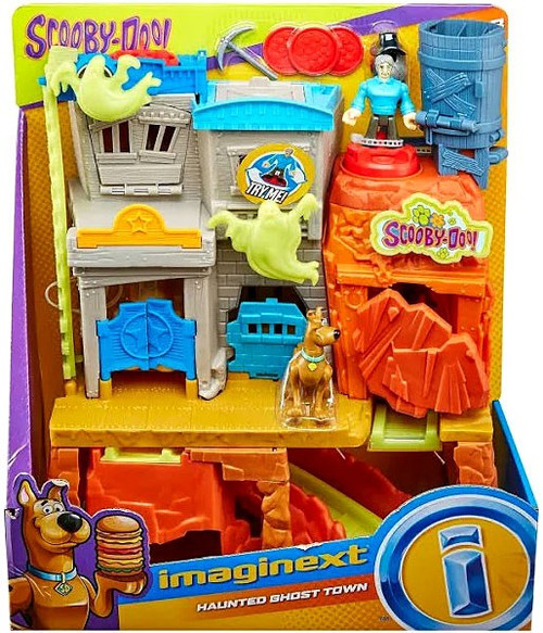 Fisher Price Scooby Doo Imaginext Haunted Ghost Town 3-Inch Playset