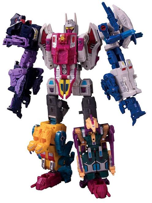 Transformers Generations Power of the Primes Abominus Action Figure [Hun-Gurrr, Rippersnapper, Blot, Sinnertwin & Cutthroat]