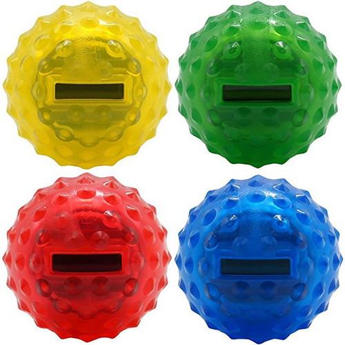 Master a Million Red, Blue, Yellow & Green Set of 4 Bouncy Balls [Original Version]