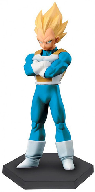 Dragon Ball Z DXF Chozousyu Vol.7 Super Saiyan Vegeta 6-Inch Collectible PVC Figure [Special Original Color Version]