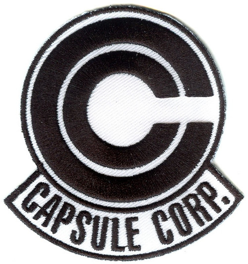 Dragon Ball Z Capsule Corp. Logo Patch