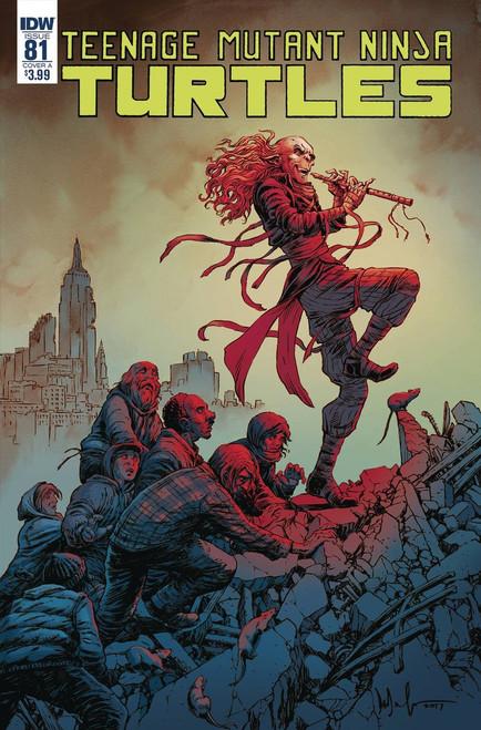 IDW Teenage Mutant Ninja Turtles Ongoing #81 Comic Book