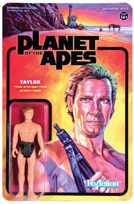 ReAction Planet of the Apes Series 1 Taylor Action Figure