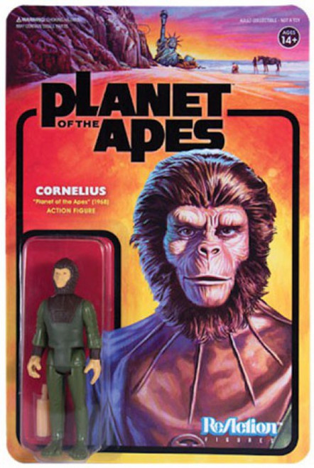 ReAction Planet of the Apes Series 1 Cornelius Action Figure