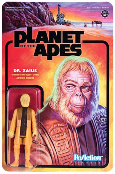 ReAction Planet of the Apes Series 1 Dr. Zaius Action Figure