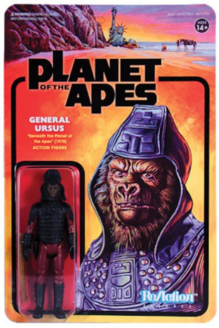 ReAction Planet of the Apes Series 1 General Ursus Action Figure