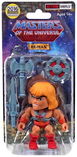 Masters of the Universe Action Vinyls He-Man Exclusive Vinyl Figure [Battle Armor]