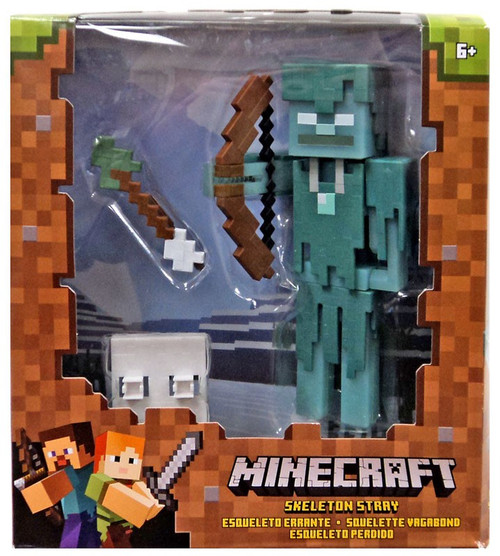 Minecraft Skeleton Stray Action Figure