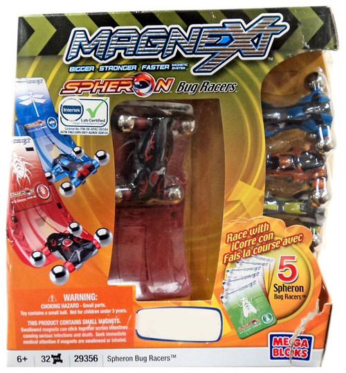 Mega Bloks Magnext Spheron Bug Racers Exclusive Set #29356