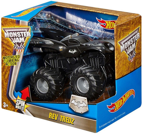 Hot Wheels Monster Jam 25 Rev Tredz Batman Truck Vehicle