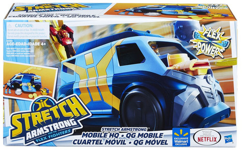 Stretch Armstrong & The Flex Fighters Flex Power Stretch Armstrong Mobile HQ Exclusive Vehicle [Damaged Package]