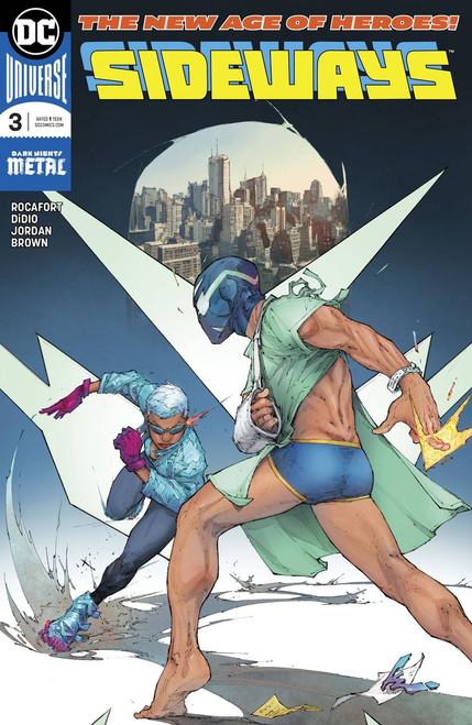 DC Sideways #3 Comic Book