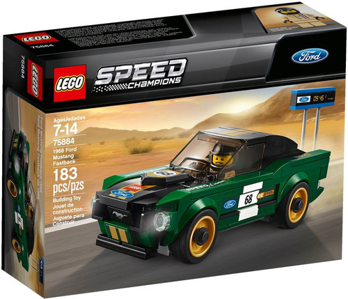 LEGO Speed Champions 1968 Ford Mustang Fastback Set #75884