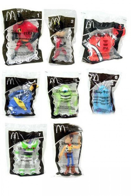 Disney / Pixar Happy Meal Incredibles Figure Set