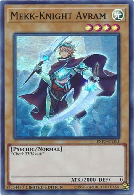YuGiOh Extreme Force Super Rare Mekk-Knight Avram EXFO-ENSE1