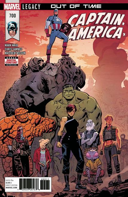 Marvel Captain America #700 Comic Book