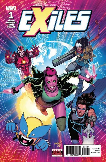 Marvel Comics Exiles #1 Comic Book