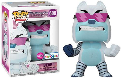 Funko Teen Titans Go! POP! TV Bear Exclusive Vinyl Figure [Flocked]