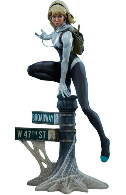 Marvel Spider-Gwen 16-Inch Mark Brooks Artist Series Statue