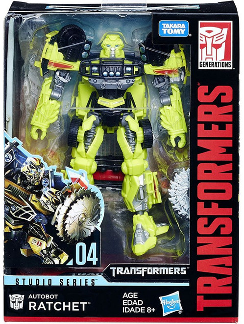 Transformers Generations Studio Series Ratchet Deluxe Action Figure #04