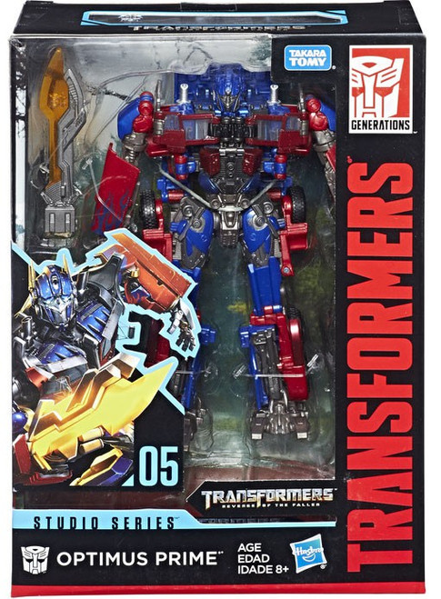 Transformers Generations Studio Series Optimus Prime Voyager Action Figure #05 [Version 1]