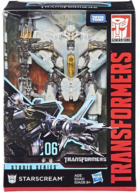 Transformers Generations Studio Series Starscream Voyager Action Figure #06 [Version 1]