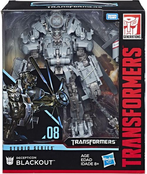 Transformers Generations Studio Series Blackout Leader Action Figure #08