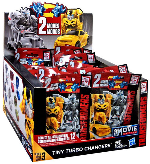 Transformers Bumblebee Movie Tiny Turbo Changers Series 3 Mystery Box [24 Packs]