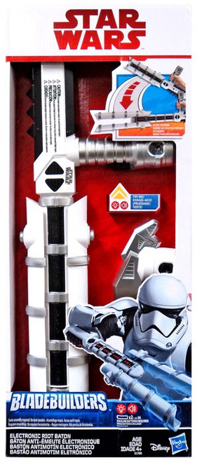 Star Wars Bladebuilders Riot Baton Electronic Roleplay Toy