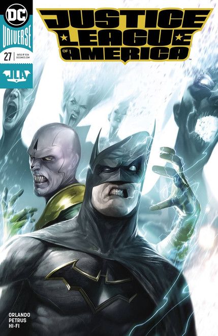 DC Justice League of America #27 Comic Book [Variant Cover]