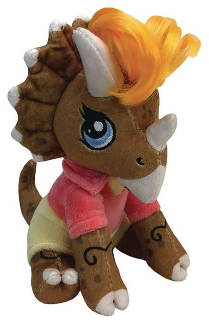 Jurassic Park Clawzplay Ellie (Triceratops) Plush Toy